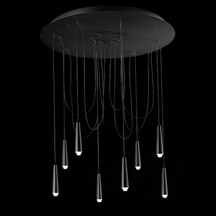 Morosini Santral 8 Drop LED Pendant