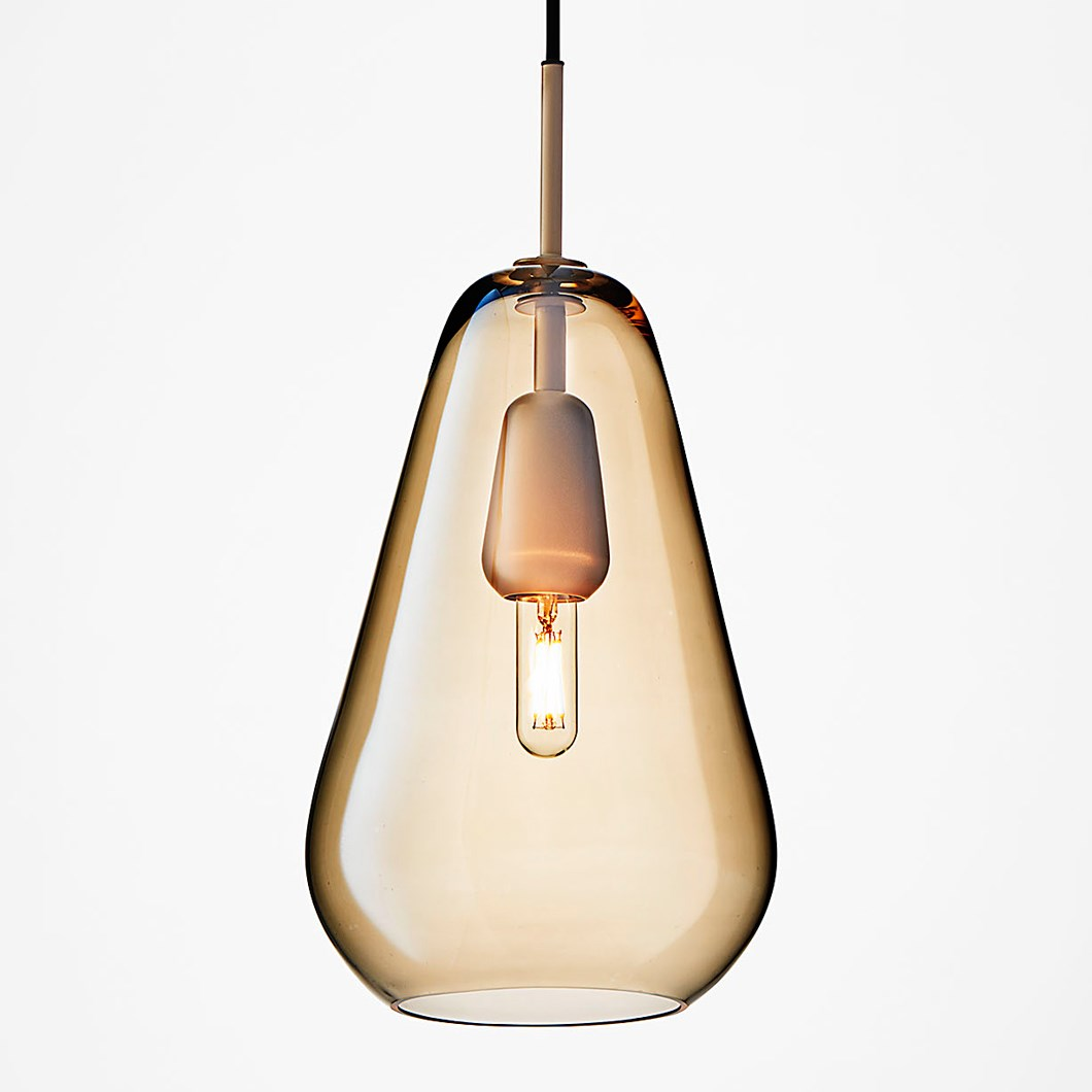 Nuura Anoli 1 Medium Glass Pendant| Image : 1