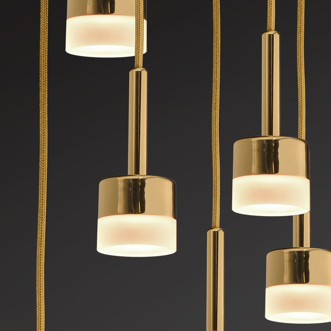 Rakumba City Lights Led Pendant Darklight Design