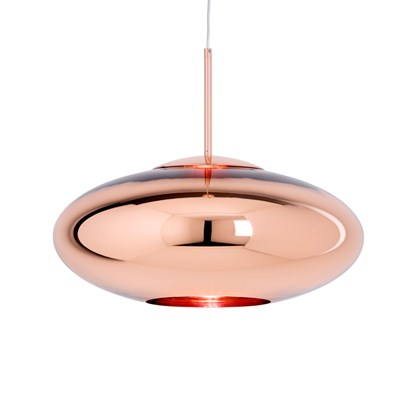 Tom Dixon Copper Wide Pendant