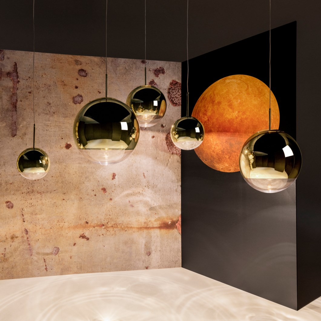 Tom Dixon Mirror Ball Pendant| Image:1