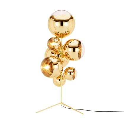 Tom Dixon Mirror Ball Stand Chandelier Floor Lamp
