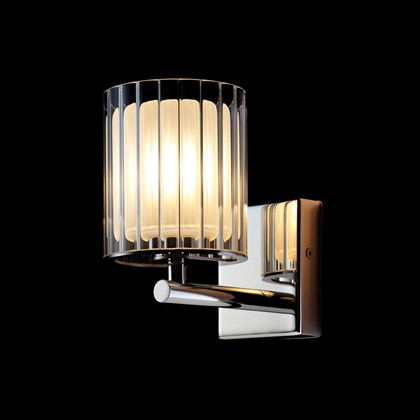 Tom Kirk Flute IP44 Wall Light