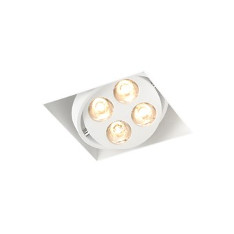Trizo21 R51 LED Plaster-In Recessed Directional Downlight