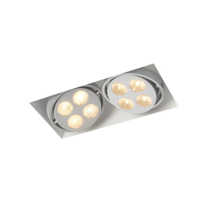 Trizo21 R52 LED Plaster-In Recessed Directional Downlight| Image : 1