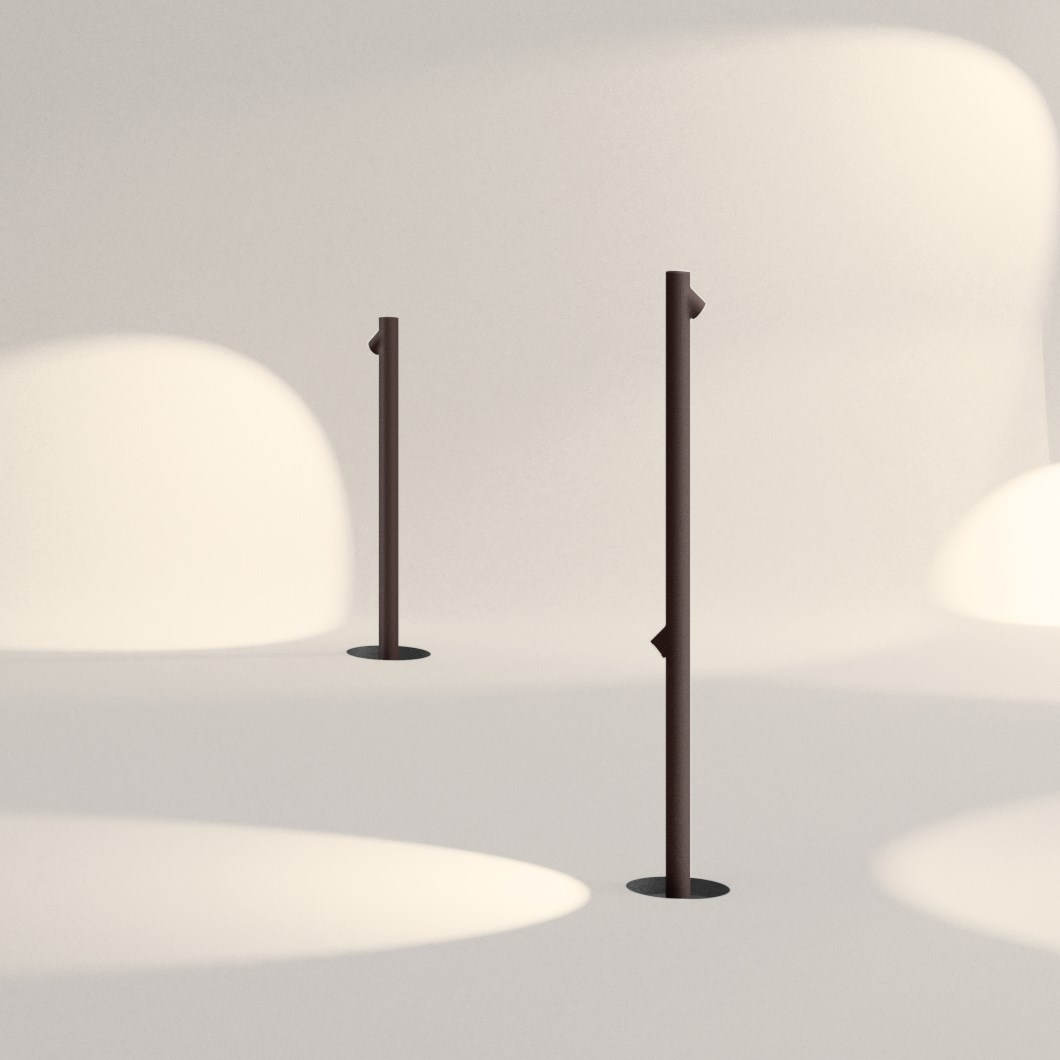 Vibia Bamboo Exterior Floor Lamp| Image : 1