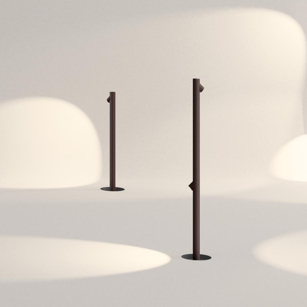 Vibia Bamboo Exterior Floor Lamp Darklight Design Lighting Design Supply