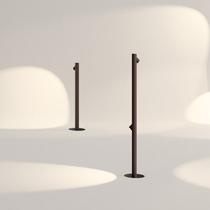 Vibia Bamboo Exterior Floor Lamp