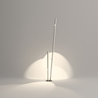 Vibia Bamboo Double Exterior Floor Lamp