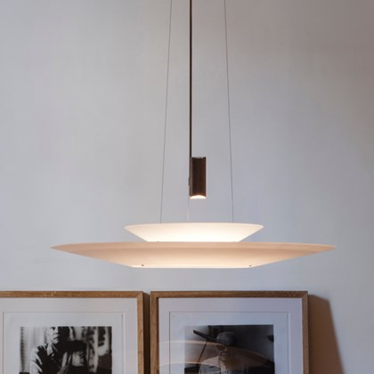 Vibia Flamingo Double Downlit Pendant