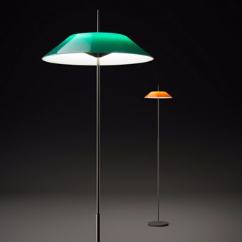 Vibia Mayfair Translucent Floor Lamp