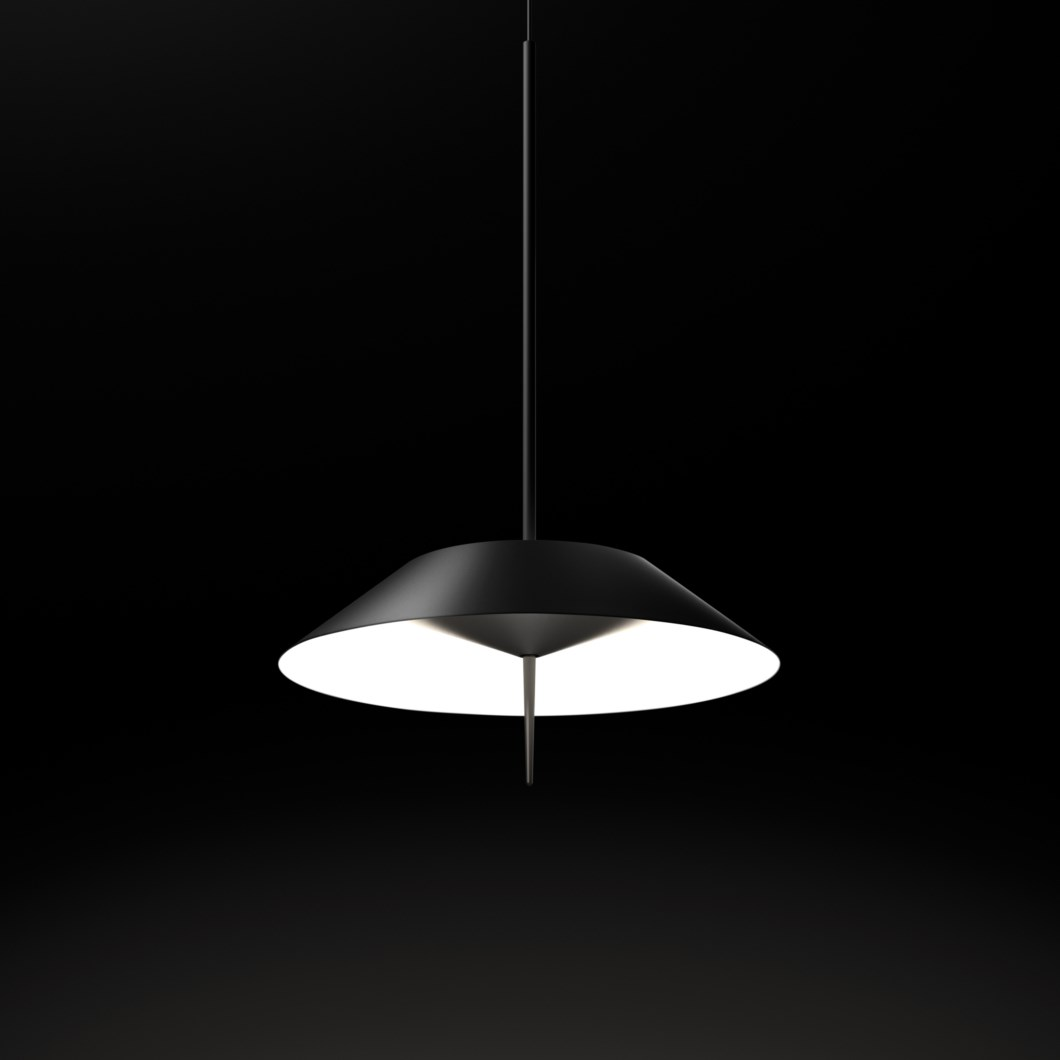 Vibia Mayfair Opaque Single Pendant| Image:1