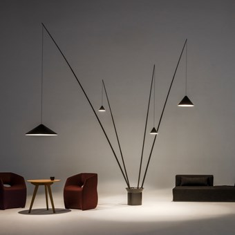 Vibia North Quadruple Floor Lamp