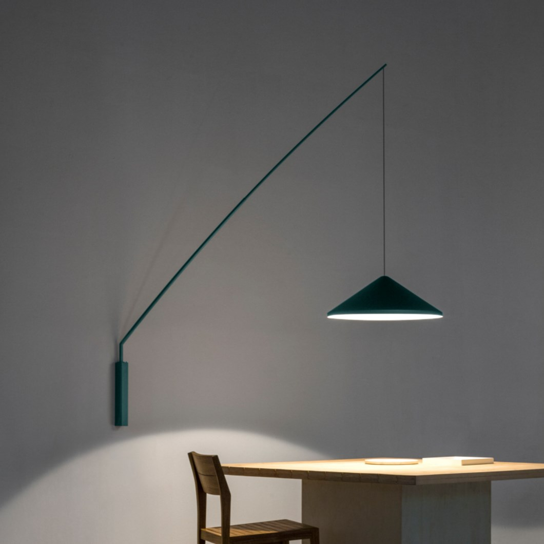 Vibia North Fixed Single Wall Light Darklight Design