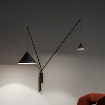 Vibia North Fixed Double Wall Light