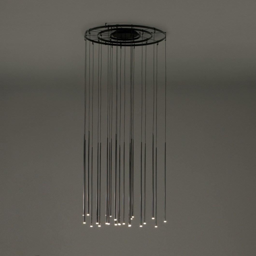 Vibia Slim Ringed Pendant Darklight Design Lighting