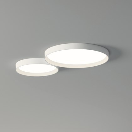 Vibia Up Double Circle Ceiling Light