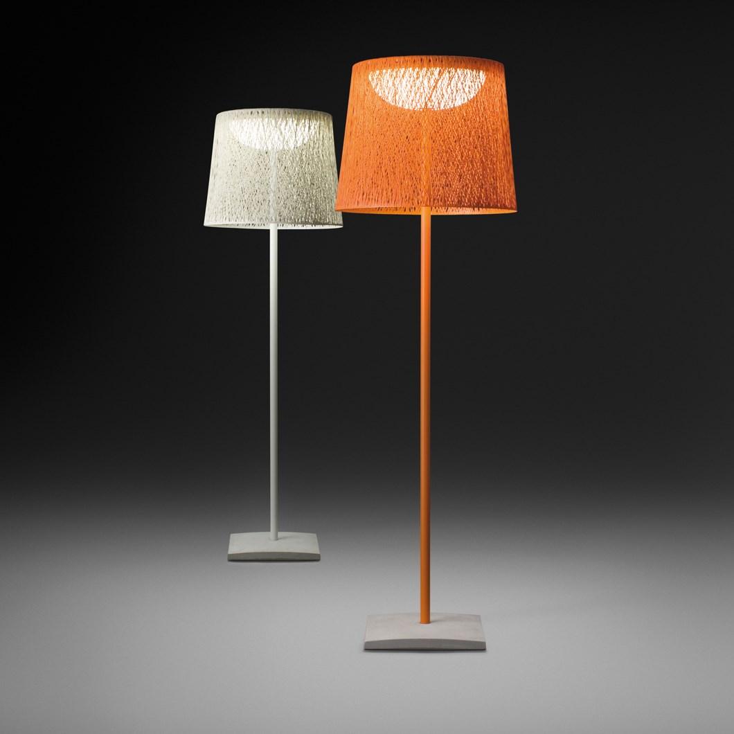 Vibia Wind Slim Exterior Floor Lamp