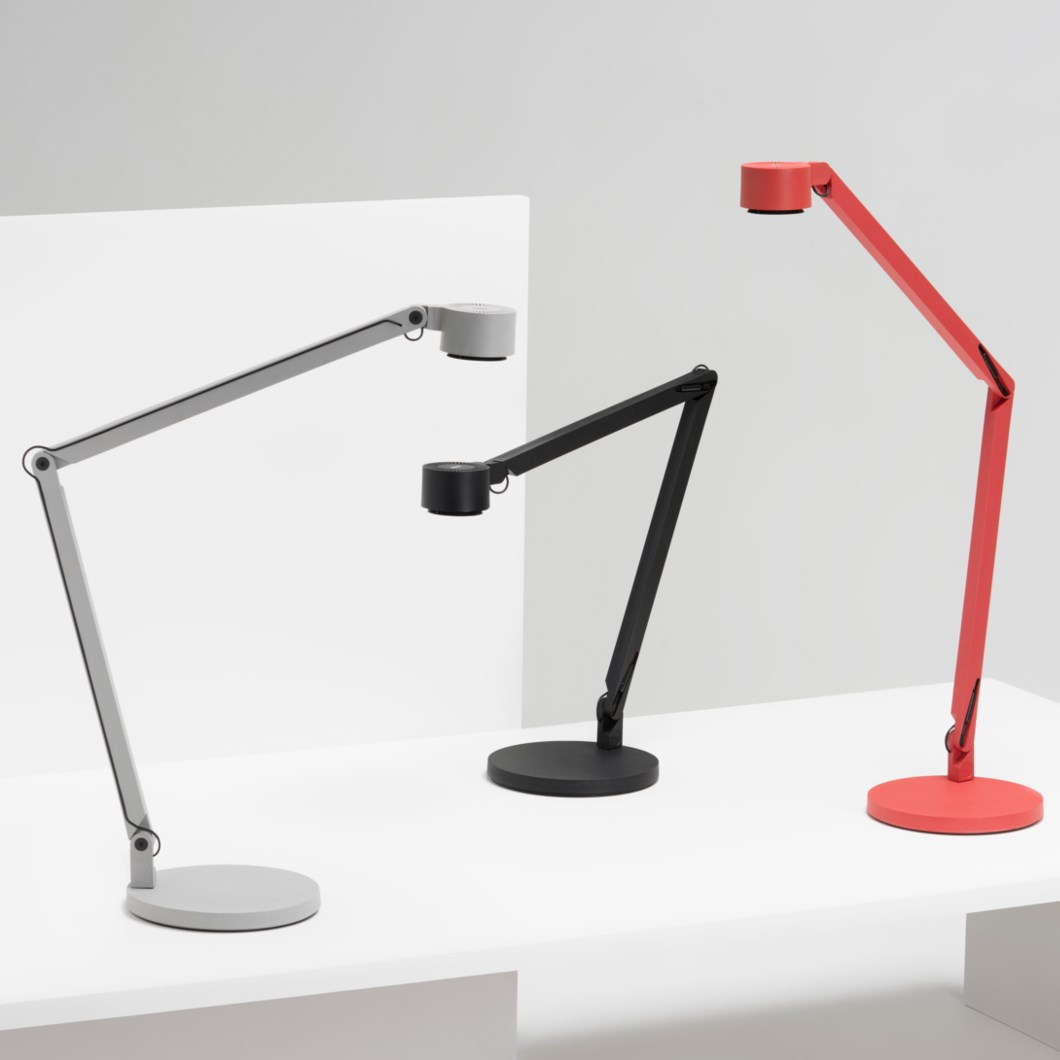Wastberg W127 Twin Arm Desk Lamp| Image : 1