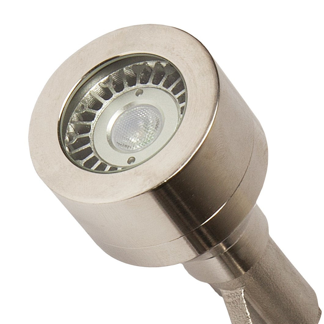 CLEARANCE X-Terior Dune Mini LED 12V Dimmable Spike/Surface Spot Light: Copper, 2700K, 30d Beam| Image:1