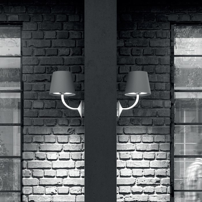 DLD Arcus LED Outdoor IP65 Wall Light| Image:1
