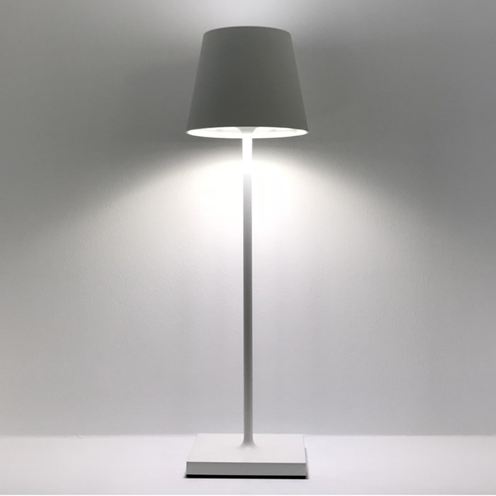DLD Polar LED Outdoor Rechargeable Table Lamp - Next Day Delivery| Image : 1