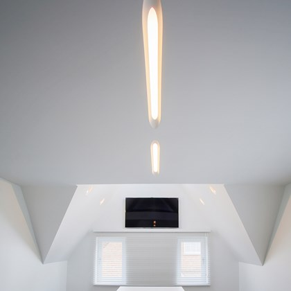 Brick In The Wall Canou LED Plaster In Recessed Downlight