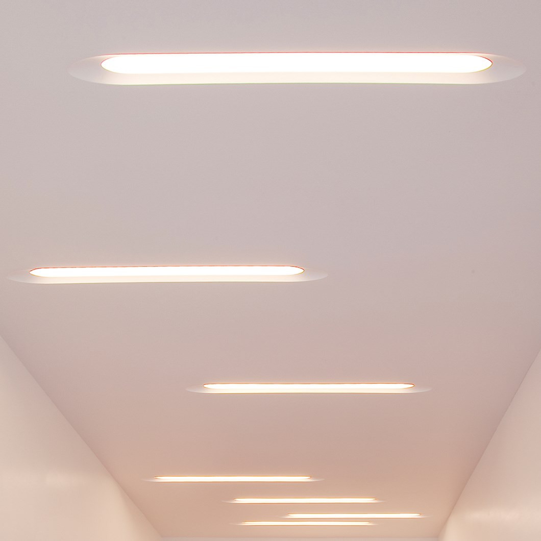 Brick In The Wall Canou XL LED Plaster In Recessed Downlight| Image:1