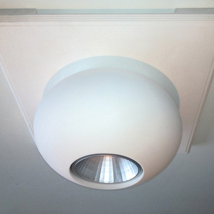 Brick In The Wall Ellips 111 Plaster In Downlight| Image : 1