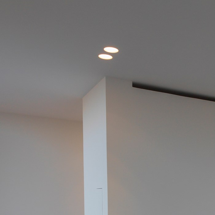 Brick In The Wall Enola 50 LED Recessed Plaster In Downlight| Image:1