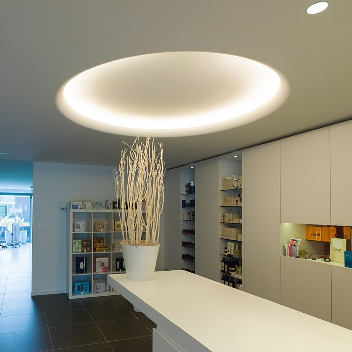 Brick In The Wall Floyd LED Plaster In Recessed Light| Image:1