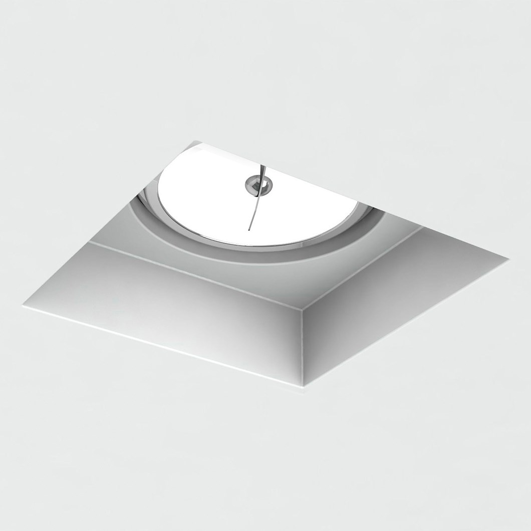 Brick In The Wall Indox 111 LED Recessed Plaster In Downlight| Image : 1