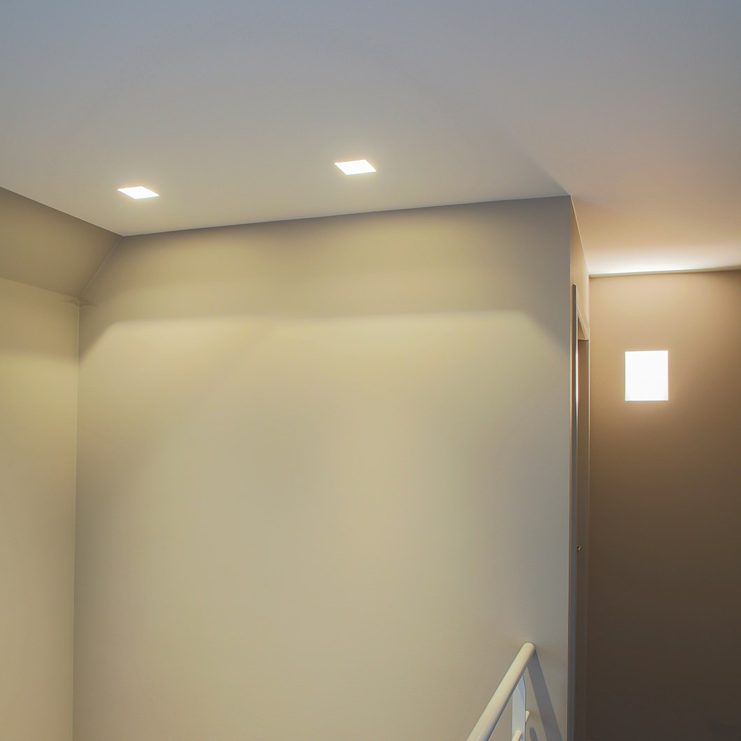 Brick In The Wall Indox 30 LED Recessed Plaster In Downlight| Image:1