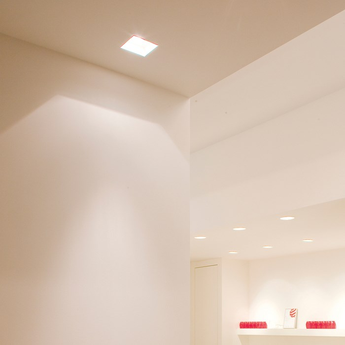 Brick In The Wall Indox R 50 Recessed Plaster In Downlight| Image:1