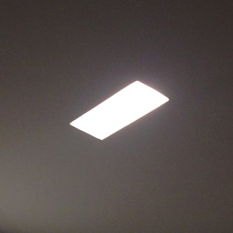 Brick In The Wall Indox 1434 LED Recessed Plaster In Wall Washer Downlight