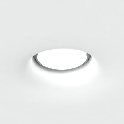 Brick In The Wall Level 50 LED Plaster In Recessed Downlight