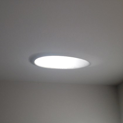 Brick In The Wall Mask 50 LED Plaster In Recessed Downlight