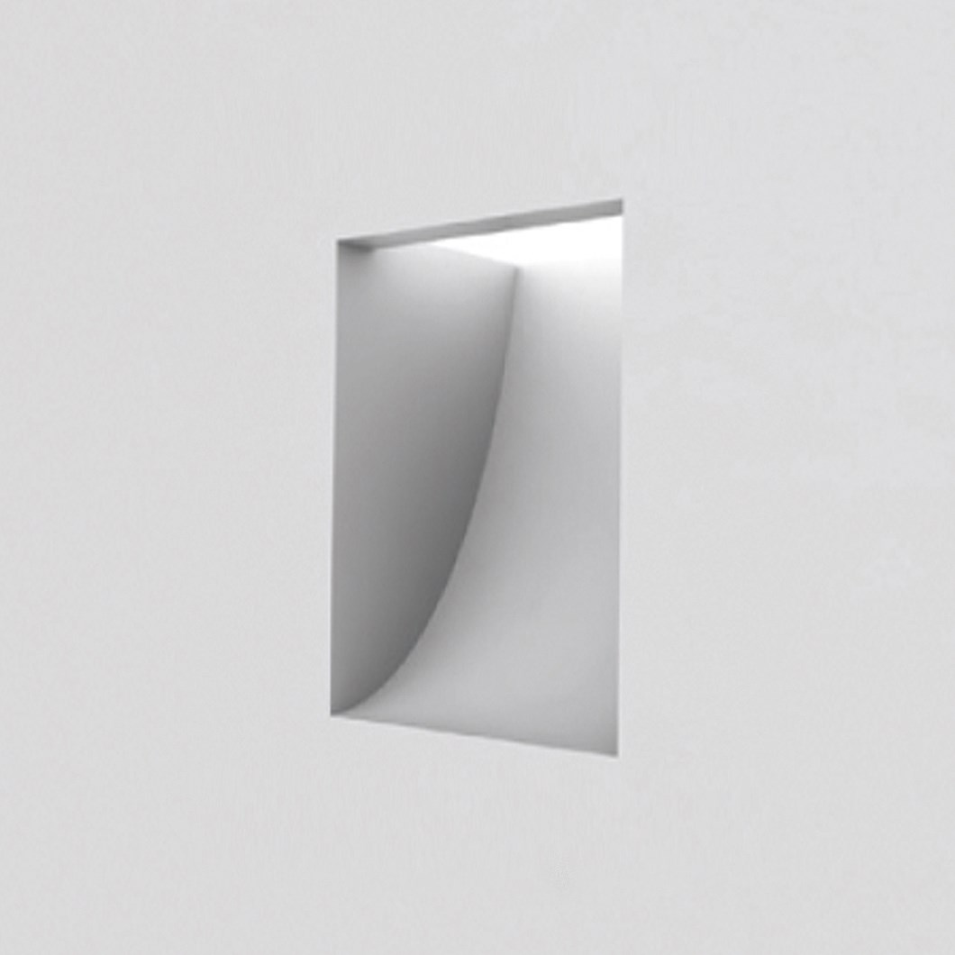 Brick In The Wall Nano LED Plaster In Recessed Light| Image : 1