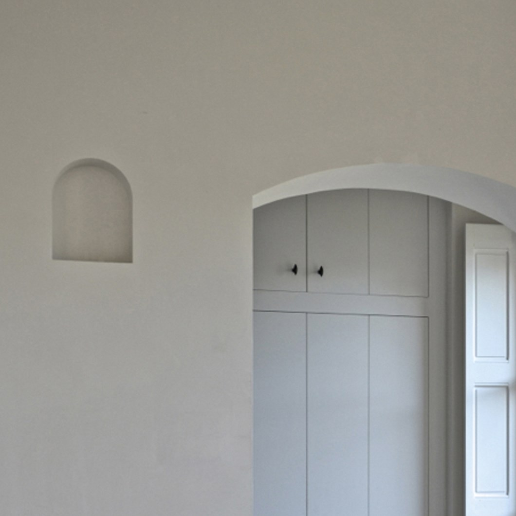 Brick In The Wall Moor Plaster In Recessed Light| Image:1