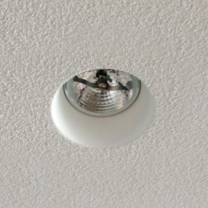 Brick In The Wall Pixo 111 LED Plaster In Recessed Downlight