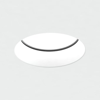 Brick In The Wall Pixo 50 LED Plaster In Recessed Downlight