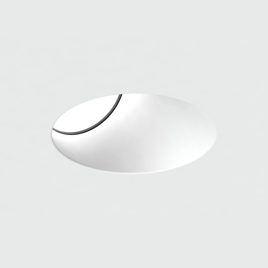 Brick In The Wall Pixo 50 W Plaster In Recessed Downlight