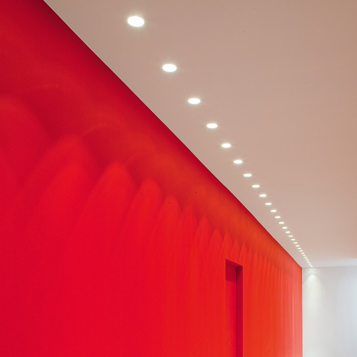 Brick In The Wall Pixo 50 Low LED Plaster In Recessed Downlight| Image:1