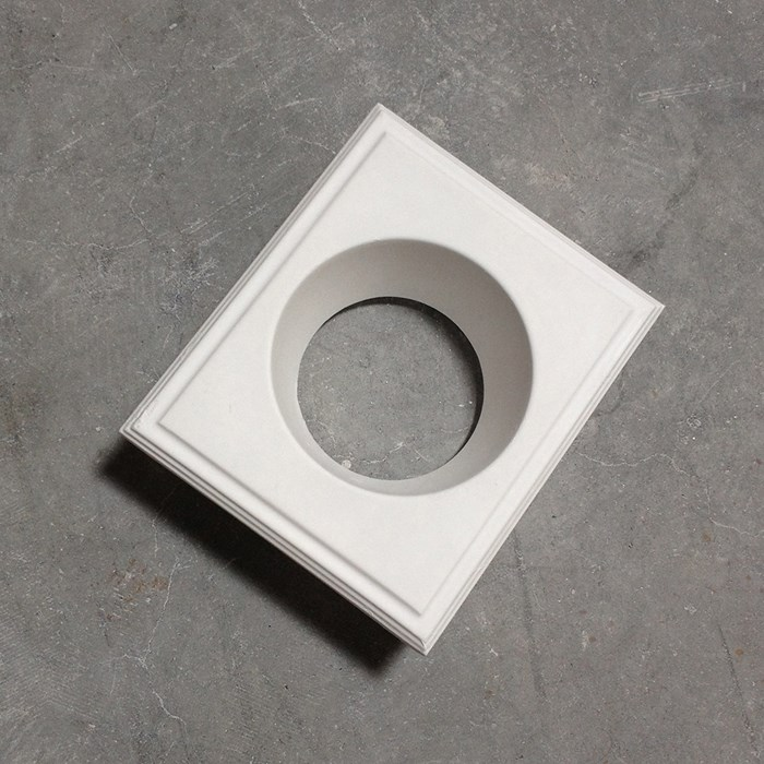 Brick In The Wall Pixo 111 LED Plaster In Recessed Downlight| Image:1