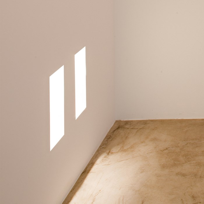 Brick In The Wall Small LED Plaster In Wall Light| Image : 1