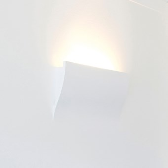 Brick In The Wall Wave S LED Plaster In Wall Light
