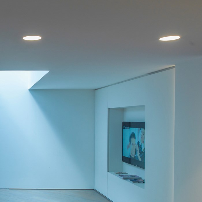 Brick In The Wall Zerodix 111 LED Recessed Plaster In Downlight| Image:1