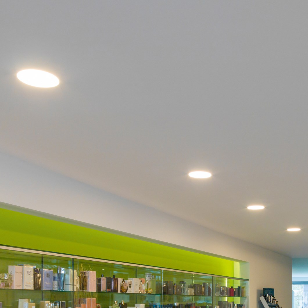 Brick In The Wall Zerodix 140 LED Recessed Plaster In Downlight| Image:1