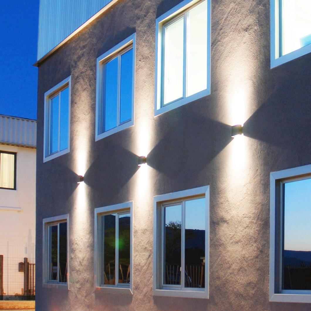 Flexalighting Cadmo Rgb Updown Exterior Wall Light