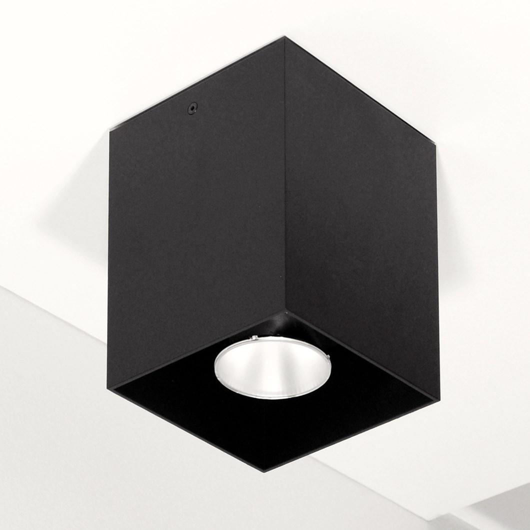 Flexalighting Cube 20 Surface Mounted Spot Light Darklight